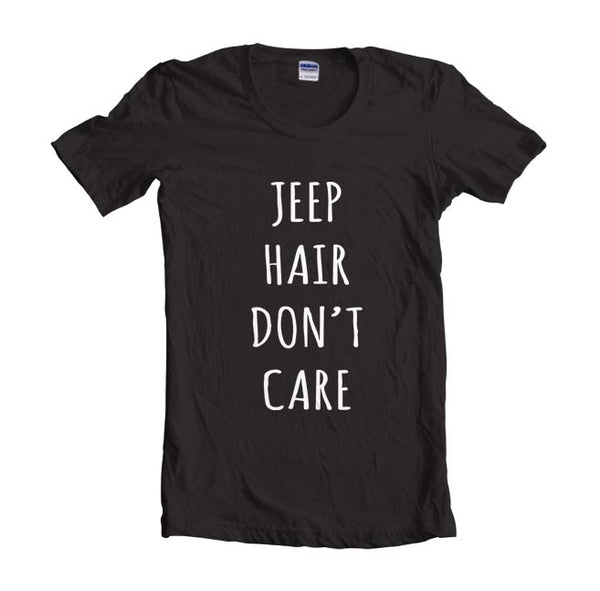 Jeep Hair Don`t Care Women T-shirt