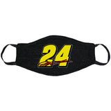 #24 Jeff Gordon Name Face Mask