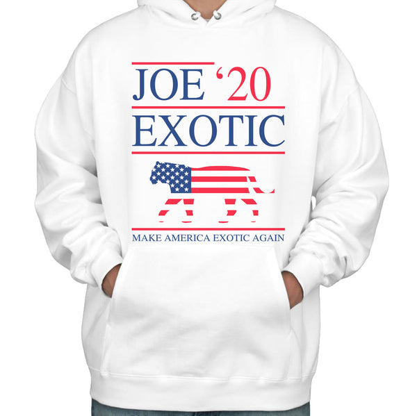 Joe Exotic 2020 Tiger King Unisex Pullover Hoodie Adult