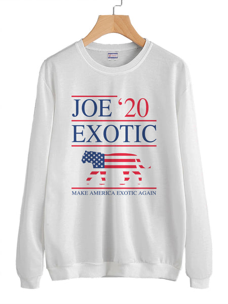Joe Exotic 2020 Tiger King Unisex Crewneck Sweatshirt Adult