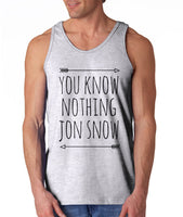 You Know Nothing Jon Snow Men Tank Top