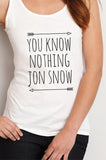 You Know Nothing Jon Snow Women Tank Top