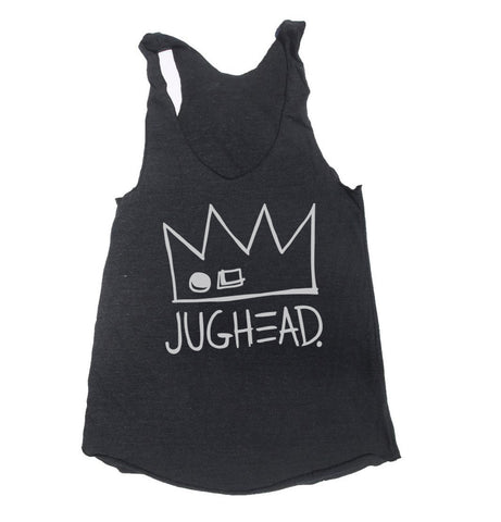 Jughead Crown Triblend Racerback Women Tank Top