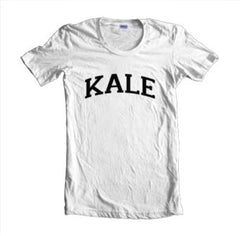 Kale Black Ink On Front Hight Quality Beyonce Women T-shirt