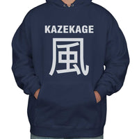 Kazekage Symbol On Front Naruto Unisex Pullover Hoodie Adult