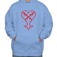 The Heartless Kingdom Hearts Unisex Pullover Hoodie Adult