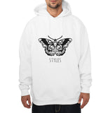 Butterfly Tattoo Harry Styles Unisex Pullover Hoodie - Meh. Geek