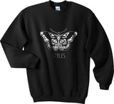 Butterfly Tattoo Harry Styles Unisex Crewneck Sweatshirt - Meh. Geek