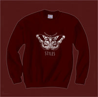 Butterfly Tattoo Harry Styles Unisex Crewneck Sweatshirt - Meh. Geek - 4