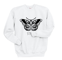 Butterfly Tattoo Harry Styles Unisex Crewneck Sweatshirt - Meh. Geek - 6