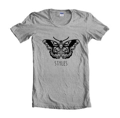 Butterfly Tattoo Harry Styles Women T-shirt - Meh. Geek