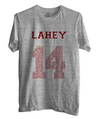 Lahey 14 Quote Maroon Ink Beacon Hills Lacrosse Wolf Men T-shirt
