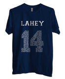 Lahey 14 Quote White Ink Beacon Hills Lacrosse Wolf Men T-shirt