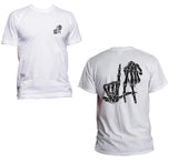 LA Skeleton Hand Front And Back Men T-shirt / Tee