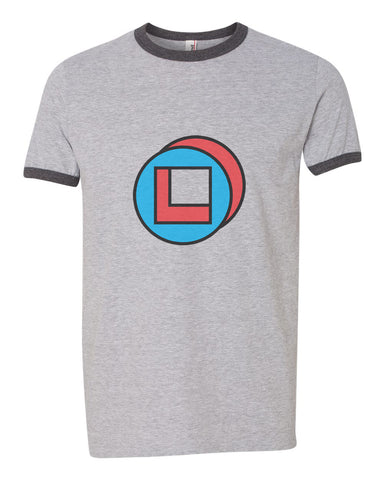 Legion Square David Tee | Ringer Unisex T-shirt / tee