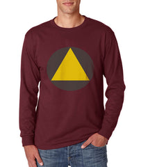 Legion Triangle david tee Long Sleeve T-shirt for Men