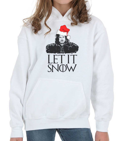 Let It Snow Kid / Youth Hoodie