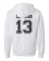 Lightwood 13 On BACK Idris University Unisex Pullover Hoodie - Meh. Geek - 5