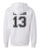 Lightwood 13 Idris University Unisex Pullover Hoodie White - Meh. Geek - 2