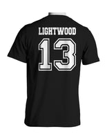 Lightwood 13 Idris University Men T-shirt black