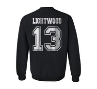 Lightwood 13 Idris University Unisex Crewneck Sweatshirt Black - Meh. Geek - 3