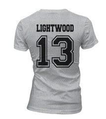 Lightwood 13 On BACK Idris University Women T-shirt - Meh. Geek - 1