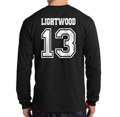 Lightwood 13 Idris University Long Sleeve T-shirt for Men Black - Meh. Geek - 3