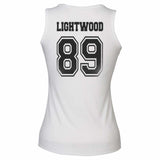 Lightwood 89 On BACK Idris University Women Tank Top