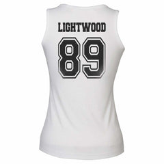Lightwood 89 Idris University Women Tank Top White