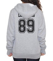 Lightwood 89 On BACK Idris University Unisex Pullover Hoodie - Meh. Geek - 3