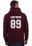 Lightwood 89 On BACK Idris University Unisex Pullover Hoodie - Meh. Geek - 1