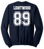 Lightwood 89 Idris University Unisex Crewneck Sweatshirt Navy