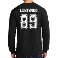Lightwood 89 Idris University Long Sleeve T-shirt for Men Black - Meh. Geek - 3
