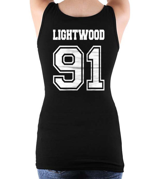 Lightwood 91On BACK Idris University Women Tank Top
