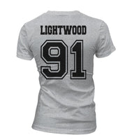 Lightwood 91 Idris University Women T-shirt Sport Grey - Meh. Geek - 3