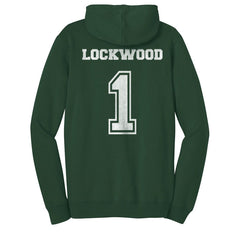 LOCKWOOD 1 Mystic Falls Timberwolves The Vampire Diaries Unisex Pullover Hoodie - Forest Green