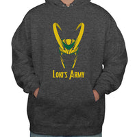 Loki's Army Color Unisex Pullover Hoodie Adult
