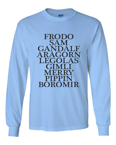 Lord Of The Rings Long Sleeve T-shirt for Men - Meh. Geek - 1