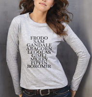 Lord Of The Rings Long sleeve T-shirt for Women - Meh. Geek - 1