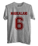 Mahealani 6 on front Beacon Hills Lacrosse Wolf Unisex T-shirt Men - Meh. Geek
