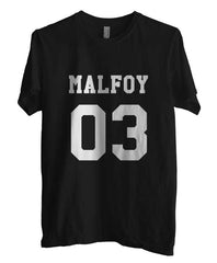 Malfoy 03 on front Harry Potter Men T-shirt