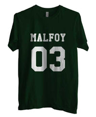 Malfoy 03 on front Harry Potter Unisex Men T-shirt - Meh. Geek - 1