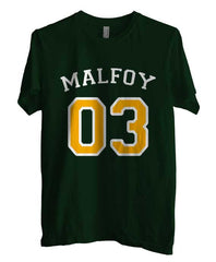 Malfoy 03 With Yellow on front Harry Potter Unisex Men T-shirt - Meh. Geek - 1