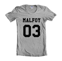 Malfoy 03 Black Ink on front Harry Potter T-shirt Women