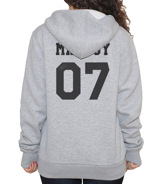 Malfoy 07 Black Ink on BACK Harry Potter Unisex Pullover Hoodie - Meh. Geek