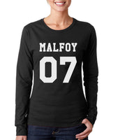 Malfoy 07 Harry potter Long sleeve T-shirt for Women