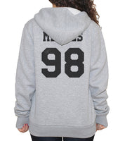 Mendes 98 Black Ink on BACK Shawn Peter Raul Mendes Unisex Pullover Hoodie - Meh. Geek