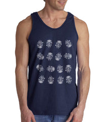 Millennium Cheker Starwars Men Tank Top