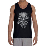 Millennium Falcon Starwars Men Tank Top