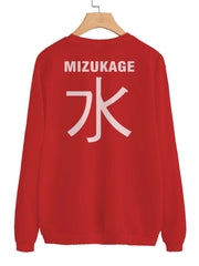 Mizukage Symbol on Back Naruto Unisex Crewneck Sweatshirt Adult
